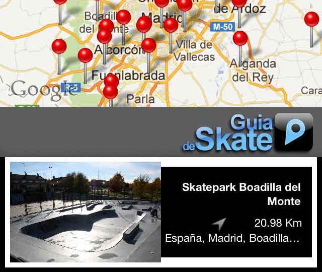 Guia de Skateparks.
