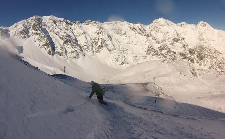 Alain Bourgeois: SNOWBOARD & 67 ANS (français)