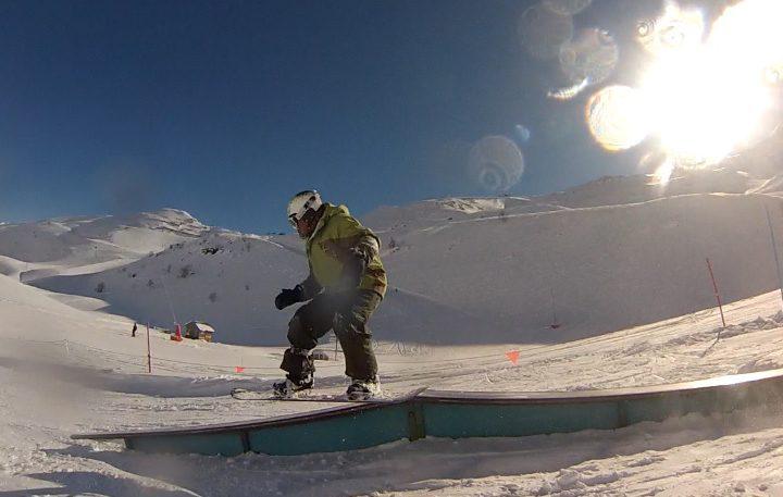 Alain Bourgeois: SNOWBOARD a los 67 años