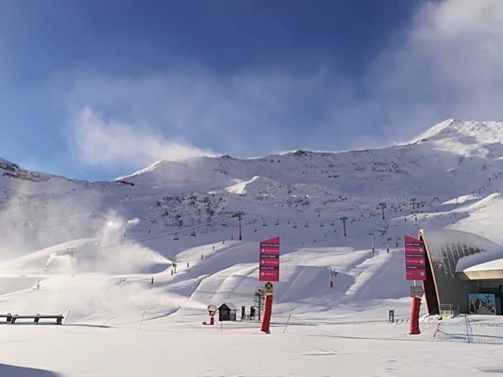 Primera nevada del invierno